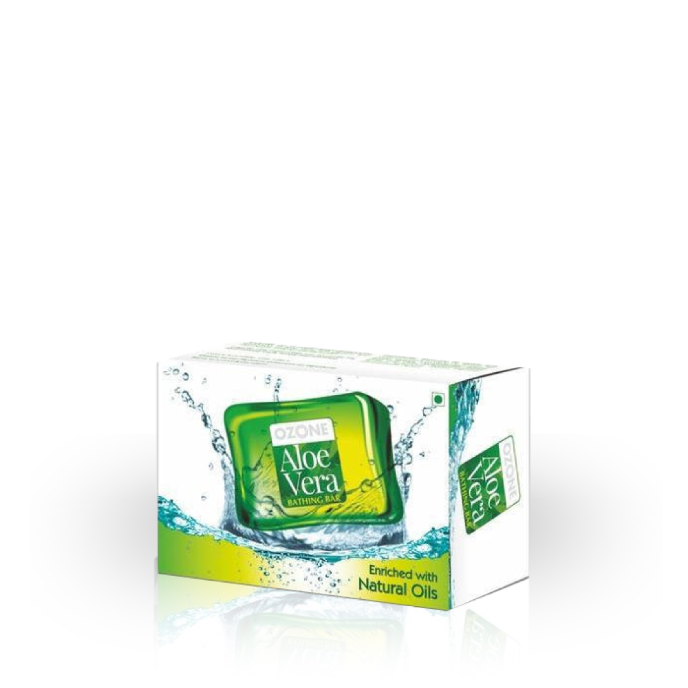 Ayurvedics Aloe Vera Bathing Bar 125 G