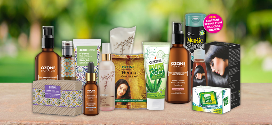 THE BEST FACE CARE PRODUCTS IN INDIA BY OZONE