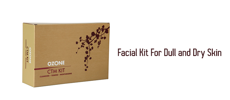 CLEANSING TONING MOISTURIZING KIT FOR FACIAL