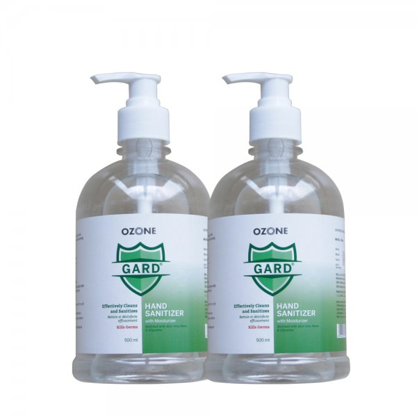 Ozone GARD Germ Protection Hand Sanitizer 500 Ml - Pack of 2